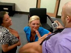 stockings cumshot hardcore milf blowjob threesome bigtits pussyfucking office cocksuckers