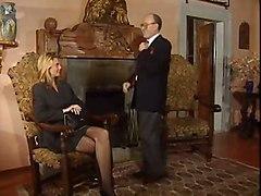 stockings cumshot hardcore blonde blowjob pussyfucking italian multipleblowjob gangabng