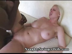 cumshot black big blonde cock interracial orgasm naughty devon swinger cuckcold