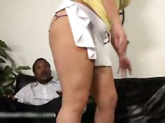 Nina Rosales(sonia Glaze) Playing With A Black Dick