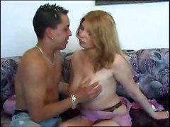 Hot Cute Big Tits Mom Has Sex With Her Friend Son