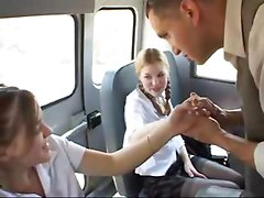 Sexy Schoolbus Teeny Surprise