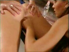 threesome pornstar oil massage riding couch blowjob big tits Pussy Pussylicking Rubbing POV babe