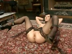 fetish bondage stockings spanking tattoo bdsm blodnfold throat fuck hardcore