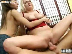 double pleasure dick blonde fleshy hard cock