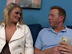 Blonde Facial Cum Soft Blow Suck Cum BJ HJ Softcore Blonde