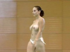 Nude GymnastikBig Boobs Softcore Brunette