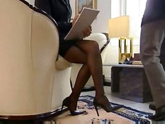 stockings secretary boss