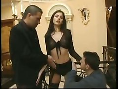 european brunette fetish blowjob hardcore anal dp pornstar stockings blowjob double penetration