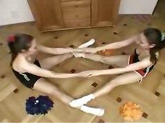 teen reality cheerleader brunette dancing teasing twins chubby hairy pussylicking retro lesbian fetish