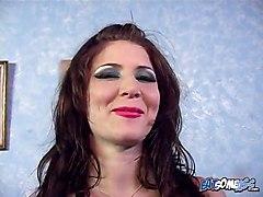 Anal Rimjob Blowjob Facial Cum Brunette Pornstar Anal BJ HJ Brunette