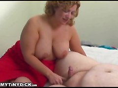 blowjob humiliation small dick