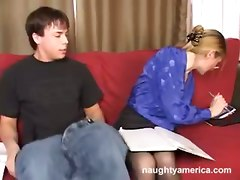milf blonde blowjob deepthroat student teacher reality cumshot face fuck facial