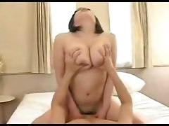 riding japanese sexy boobs