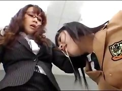 Schoolgirl In Uniform Getting Her Mouth Fisted Until Retching Face Spitted By Her Teacher In The Classroom