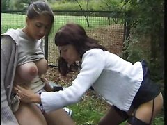 Fingering Lesbians Public Nudity