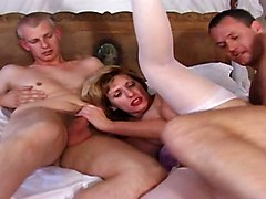 Busty Group Sex Stockings British Threesomes