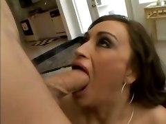 big tits milf blowjob cumshot brunette pornstar doggystyle facial