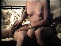 wet handjob amateur homemade cumshot couple oil brunette skinny