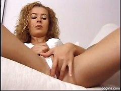 machine sex pussy lips fingering solo girl masturbation