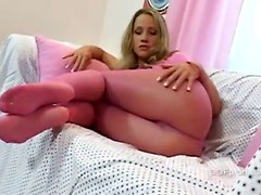 Teen Pantyhose Nylon Feet Legs FootSolo Softcore Petite Other Fetish