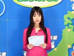 Japanese Weather report news bizarre funny bukkake asian
