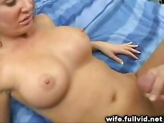 Cumshot In Front Of Husband