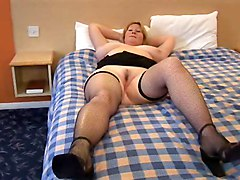 Big Boobs Matures Stockings