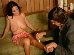 tits oiled brunette busty bigtits stripping teasing bignaturals classic softcore hooters breasts daughter gina vintage paluzzi