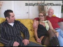 cuckold cougar milf mature wife voyeur tits