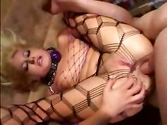 Sex slave in pantyhose