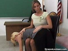 asshole lesbian teacher student spanking strapon ass fucking assfuck ariel x