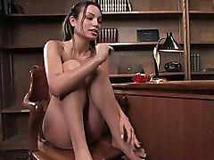 Amber Rayne There is no denying Amber s sexual prowess as Ass Queen  Kinky Queen  and just plain Sex Queen  The shoot starts at mach 4   with a high speed double penetration on the Twininserter and just soars from there  Amber shows off her love for it in