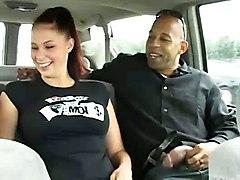 cumshot hardcore interracial blowjob brunette threesome bigtits bigass pussyfucking