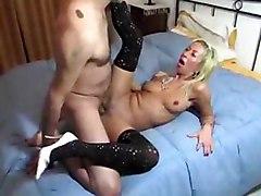 stella foliero italian milf anal sex blonde blowjob cumshot facial mature