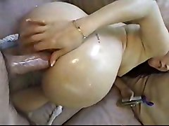 anal oiled blowjob brunette tattoo amateur salivating realamateur