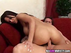 bigtits hardcore anal blowjob titjob cumshot brunette pornstar cumshot