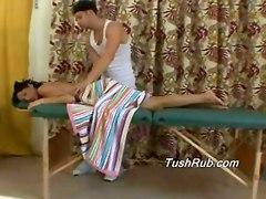 Ass massage tushy butt oil rub hot female chicks babes upskirt peekaboo hot male cock dick blow job fuck