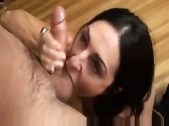 mature blowjob swallow sperm deepthroat face fuck gagging handjob tight teasing
