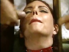 latex brunette big tits lingerie groupsex threesome femdom fetish pussy rubbing pussylicking blowjob deepthroat hardcore doggystyle cfnm close up riding anal facial cumshot wet groupsex orgy