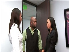Ass Butt Booty Office Freaks Rane Revere Hardcore Ebony Babes Ass