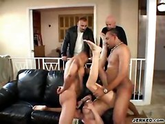 blonde milf wife threesome hugetits mmf