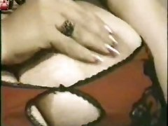 stockings boobs milf brunette mature bigtits masturbation solo hairypussy sextoys retro bbw vintage
