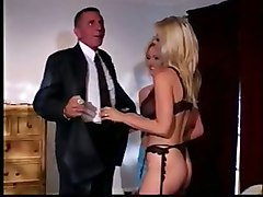 anal hardcore double blowjob pussylicking threesome blonde riding lingerie
