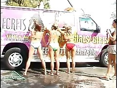 They Are Washing My Big Bus