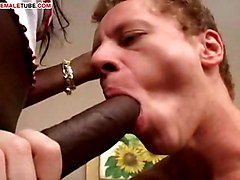 interracial ebony black cock in white ass black booty tits