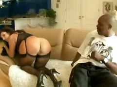stockings big tits interracial ass milf woman awesome
