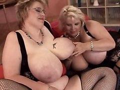 BBW Busty Lesbians