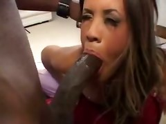 ebony pornstar blowjob big dick riding doggystyle cumshot facial