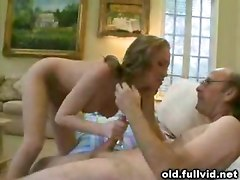 Old Man And Busty Teen